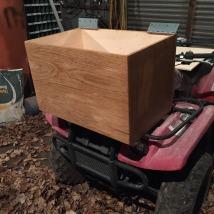 Peachy D I Y Storage Bench Vanagon Nomad Machost Co Dining Chair Design Ideas Machostcouk